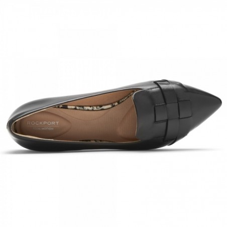 Total Motion Zuly Woven Pump